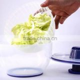 PP+TPR 20.7*13*13 Kitchen tools plastic salad spinner/vegetable spinner/salad maker/food dehydrator
