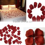 Red Rose Fake Petals Silk Flowers Table Confetti Wedding Bridal Decorations AF024