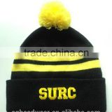 High Quality Pom Pom Cheap Custom Knitted Hat/ Knitted Beanie/ Winter Hats                                                                         Quality Choice