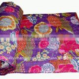 wholesale deal of kantha bothside print blanket throw quilts for limited time offer from manufacturers in india