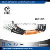 High voltage silicone Ignition wire set, ignition cable kit, spark plug wire 96305387 for DEAWOO