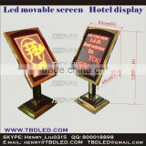 removeable led display led message screen sign board hotel led sign