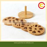 Fashion eco-friendly set of 4 bamboo heating mats for table