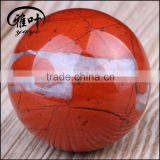 Natural semi precious stone Red Jasper 50mm sphere Ball                                                                         Quality Choice                                                                     Supplier's Choice