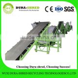 Dura-shred fast supplier electronic waste tire recycling machinery