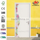 JHK- F04 Cold Room Wooden Safety Bead Designs Curtain Partition Hanging Divider Interior Door
