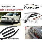 2014 CHEVROLET CAPTIVA wind deflectors,door visor,window deflectors,car rain visor,car accesories