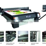 Digital glass ceramic acrylic metal plastic pvc flatbed printing machine/uv flatbed printer