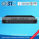 New design sound system powered pa amplifier with usb sd for school, meeting, prison, plant