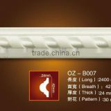 2014new PU Carved panel moulding / classic cornice/Home&Interior decoration/construction materials