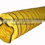 Velcro Coupling PVC Tunnel Ventilation Flexible Air Duct