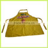 non woven apron promotion gift water resistant apron long cotton apron fastion cotton apron
