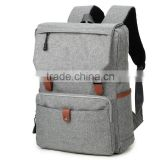 Custom 15.6 inch Laptop Shoulder Bag Laptop Backpack Canvas                                                                         Quality Choice