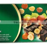 Dark Chocolate Bar with whole Nuts 200g - made in Germany