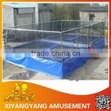 Economic trampoline high quality jumping bed ,TUV proved indoor sport trampoline
