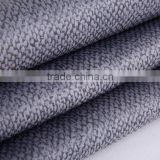 New product PU sofa fabric popular in US sofa fabric boned with fleece artificial leather sofa furniture fabric