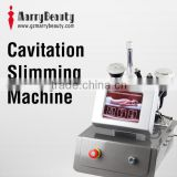 Body Slimming Machine 2014 New Product RF Cellulite Reduction 40K Cavitation Slimming Machine