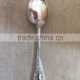 Gold plated spoon gold cutlery