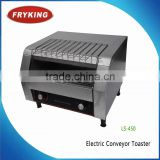 counter top electric conveyor hamburger toaster bread Bakery Machine