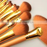 Professional salon using brushes make up Set Make up Brush Set tools Make-up Toiletry Kit Gold /Purple available