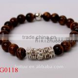 New product ideas shamballa tigers eye bead bracelet, disco ball bracelet for women