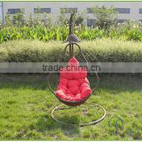 island bay resin bubble wicker hanging egg chair with cushion and stand