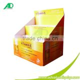 Mac cosmetic products cardboard point of purchase display pallet cost body care products