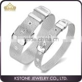 KSTONE 2015 Hot Selling Good Quality 316L Stainless Steel Mesh Watch Bracelets for Man and Women