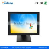 Plastic casing 17inch LCD POS touchscreen Monitor with VGA USB