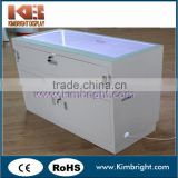 Custom high quality mdf wooden mobile phone display counter,mobile phone display cabinet,mobile phone shop decoration