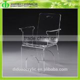 DDH-0125 Trade Assurance Clear Acrylic Swivel Chair