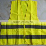 High Quality Yellow Orange Safety Vest Reflective EN20471