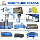 Christmas Gift Kids Jumping Bed Fitness Trampoline Kids Mini Trampoline Gym Equipment SX-FT(E)