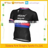 Black color cycling jersey/cycling uniform/cycling wear