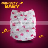 Naughty baby Breathable comfortable Minkee Modern Pocket baby cloth diapers,cloth nappies