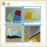woven carbon fiber reinforced plastic sheet mix with fiberglass fabric