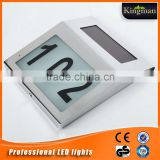 Inquiry about factory direct sale outdoor stainless steel solar garden doorplate light