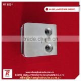 Stainless Steel 304 mirror Glass Clamp,D Clamp,Glass Holder Clips For Stair Railing Handrail