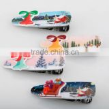 Candy color small bell hair clip lovely present car and red house hair accessory kids mini hair duck clip