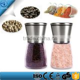 2 Pieces Brushed Stainless Steel And Pepper Grinder Set ,Salt Grinder ,Salt Pepper Grinder