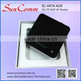SunComm SC-4474-4GR sim card 4G LTE WiFi AP Router with power bank