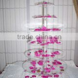 wedding-y1308232/cupcake stand/acrylic cake stand with 6 tiers/acrylic cake display for wedding