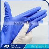 Customer bodyguard hospital Nitrile exam coating gloves disposable medical nitrile glove