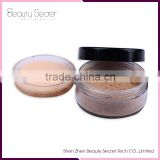makeup face powder waterproof, Super oil control effect private label cosmetics loose powder foundation kryolan