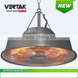 New design hanging electric gazebo patio heater,hanging electric heaters, room round heater, umbrella heater