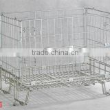 warehouse storage wire container