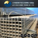 a78 High Quality Square and Rectangular Galvanized mild steel pipe for table/scaffording