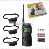 2015 hot sell 1000m remote dog training collar Multi-Dogs Training System