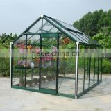 Early modern Europe Green and Grey Garden Glass Greenhouse