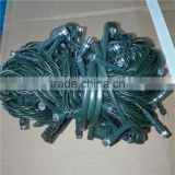 Green/black/clear/white cable led Christmas string light wholesale outdoor decorative led string